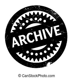 Archive rubber stamp. Grunge design with dust scratches....