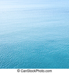 Sea water with ripples