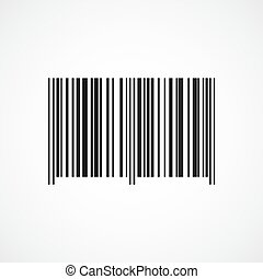 Barcode icon. Vector illustration. - Barcode icon isolated...