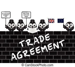 UK Trade Agreement Delegation - Comical United Kingdom Trade...
