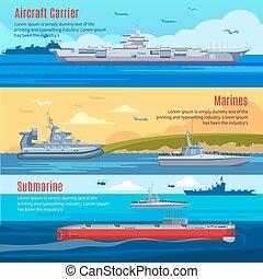 Military Fleet Horizontal Banners - Military fleet...