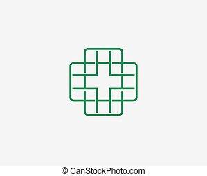 Medical icon ,logo icon design template.