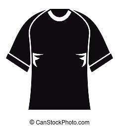 Raglan tshirt icon, simple style - Raglan tshirt icon....