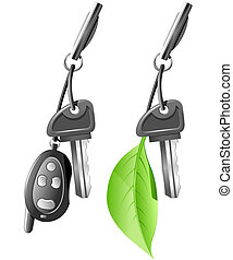 Electric Car Key