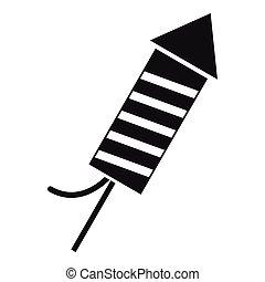 Petard icon , simple style - Petard icon. Simple...