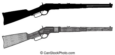Traditional Wild West Rifle V... - Traditional Wild West...