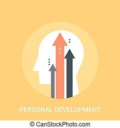 personal development icon concept