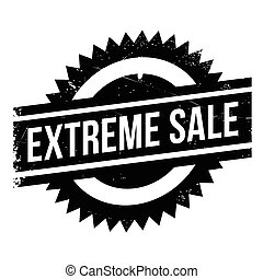 Extreme Sale rubber stamp - Extreme Sale stamp. Grunge...