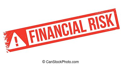 Financial Risk rubber stamp