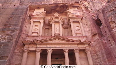 Al Khazneh or The Treasury at Petra, Jordan-- it is a symbol...