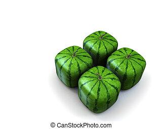 Melones, verde