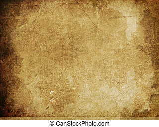 grunge texture - illustration of an old paper texture