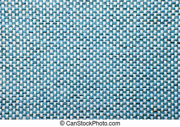 Rough Fabric Texture, Pattern, Background - Blue checkered...