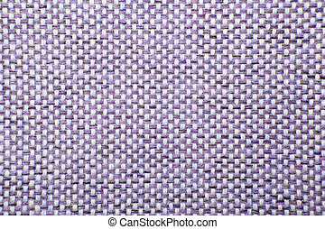 Rough Fabric Texture, Pattern, Background - Purple checkered...
