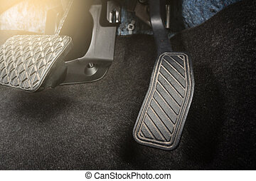 pedal - Brake and accelerator pedal of automatic...