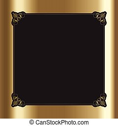decorative border 2709