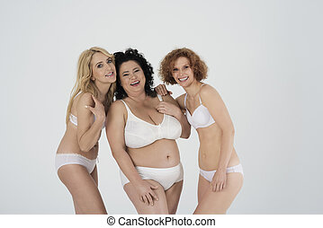 Funny time for mature women in underwear