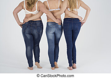 Everyone can wear fashion jeans