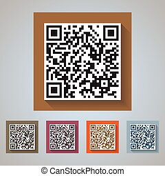 QR Code Icons - quick response codes for commercial and...