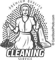 Vintage Cleaning Service Template - Vintage cleaning service...