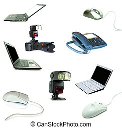technology objects - Collection of technology objects...