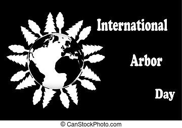 International Arbor Day,  Natural background