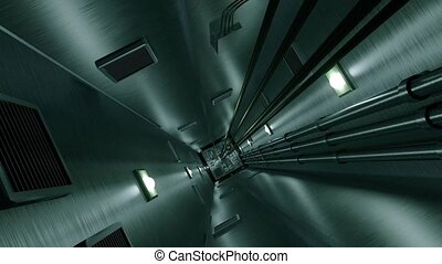 Elevator shaft lift shaft bunker vault safe nuclear...