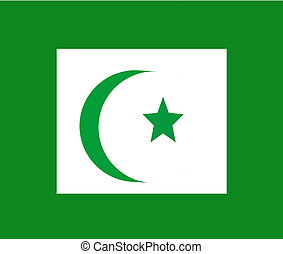 faith of islam symbol - cresent and star symbol of islam...