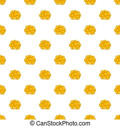 Ovary pattern, cartoon style - Ovary pattern. Cartoon...