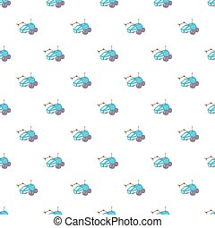 Rover pattern, cartoon style - Rover pattern. Cartoon...
