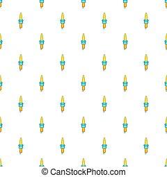Spark plug pattern, cartoon style - Spark plug pattern....