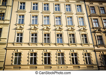 facade of an old house in Berlin Kreuzberg
