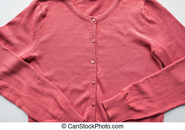 close up of cardigan - clothing, wear, fashion and objects...