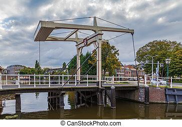 Morspoortbrug, Leiden, Netherlands - The Morspoort Bridge is...