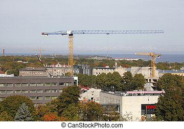 Alte Fabrikgebäude, Tallinn, Estland, Europa