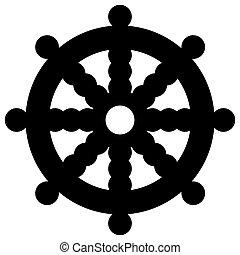 vecteur de bouddhisme religieux signes ensemble de vecteur csp3501688 recherchez des. Black Bedroom Furniture Sets. Home Design Ideas
