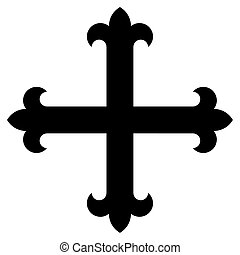 Religious sign. Christianity. There are many variants of the...