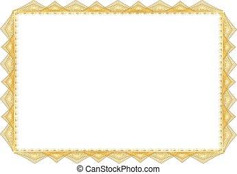 Certificate Blank
