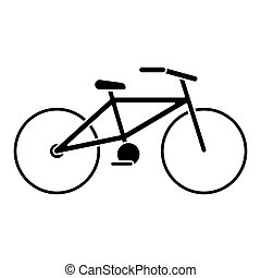 bicycle transport ecology pictogram