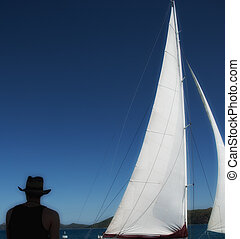 Sailing the Whitsundays - Sailing the Whitsunday Islands...