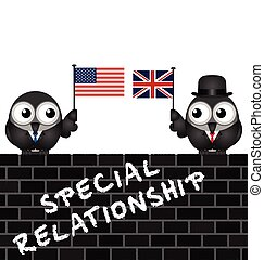 USA UK special relationship - Representation of the USA UK...
