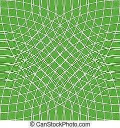 Cellular grid, mesh pattern with circles from center...