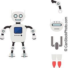 Vector robot constructor