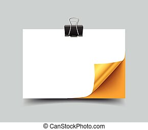 Gift discount card template, blank mock up, realistic vector...
