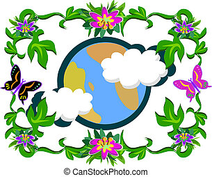 Mother Earth and Nature - Here is a colorful picture of...