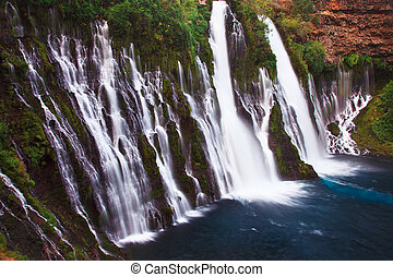 Beautiful Burney Falls Memorial State Park - Burney Falls,...