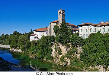Cividale del Friuli - the town Cividale del Friuli in...
