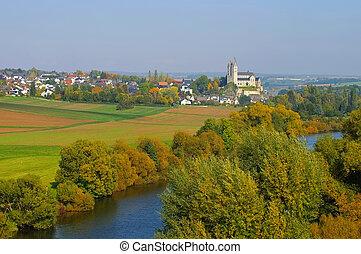 St. Lubentius Basilica in Dietkirchen, Hessen