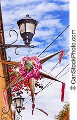 rosa, miiguel, San, México, De, aldama, decoración, allende,...