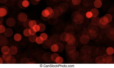 Abstract background with blurred particles